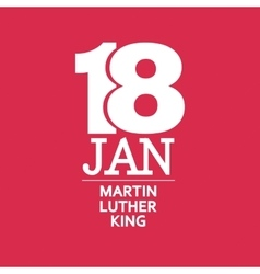 Martin Luther King Day vector