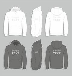 Men sweater design template vector