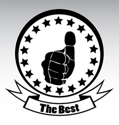 Thumbs Up vector image