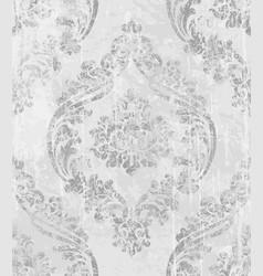 vintage baroque ornamented background vector image