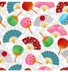 fan pattern vector image vector image