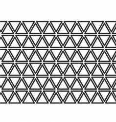 triangle texture vector image vector image