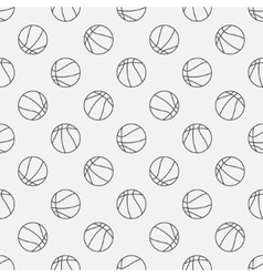 Basketball linear pattern vector