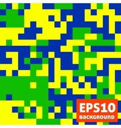 Brazil pattern vector image