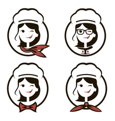 Woman Chef Logo Vector Images Over 760
