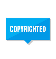 Copyrighted price tag vector