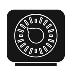 Design timer and technology icon vector