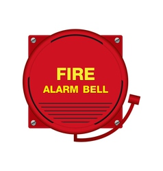Fire Alarm Bell Sign vector
