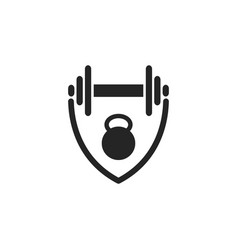 fitness graphic design template isolated vector image