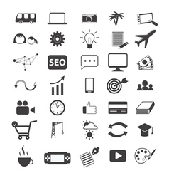 freelancer icons vector image vector image