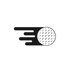 golf icon graphic design template vector image