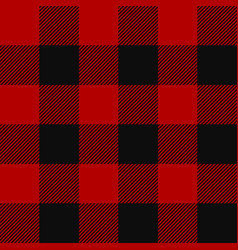 Lumberjack plaid pattern vector