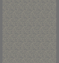 modern seamless dotted pattern vector image