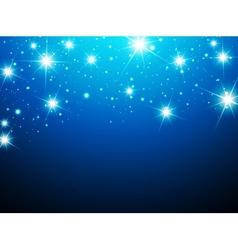 Night Star Background vector