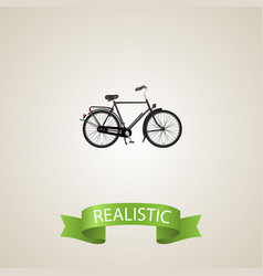 Realistic dutch velocipede element vector