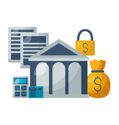 stock market image vector image
