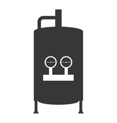 Water heater tank icon vector