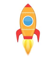 Yellow Rocket vector