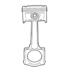 part of engine vector image vector image