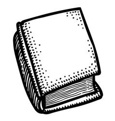 Cartoon image of book icon book symbol vector