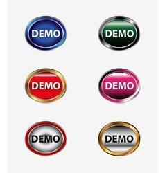 Demo icon vector
