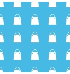 Shopping bag straight pattern vector