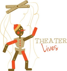 Theater Lives vector