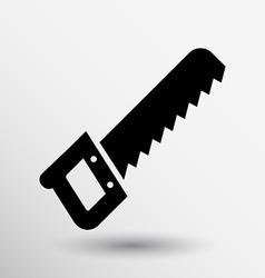 saw Icon button logo symbol concept vector image vector image