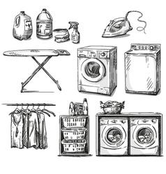 big wash vector image
