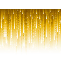 Abstract modern background with golden glittering vector