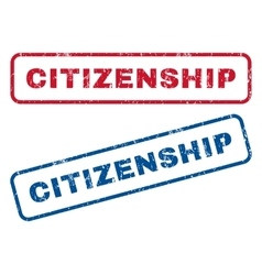 Citizenship rubber stamps vector