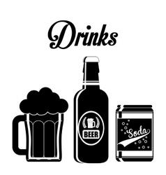 Drink design vector