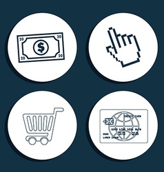 Ecommerce icon vector
