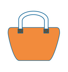 female elegant handbag icon vector image