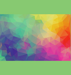 flat design multicolor triangle wallpaper vector image