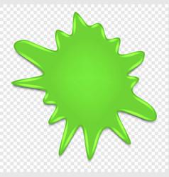 Slime splat isolated vector