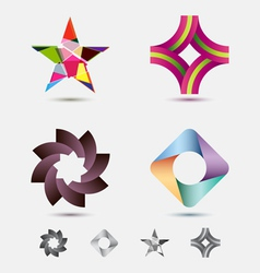 modern icon or logo set vector image vector image