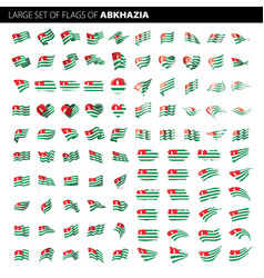 abkhazia flag vector image