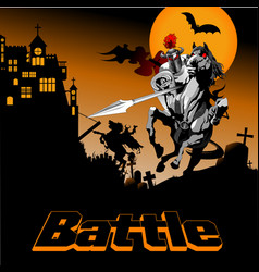 battle vector image