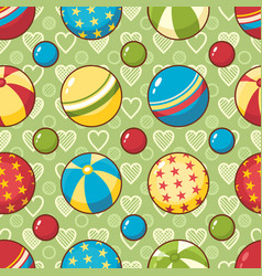 child toy seamless pattern design element for vector image