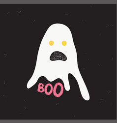 chost boo vector image