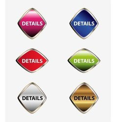 Detail icon tag vector