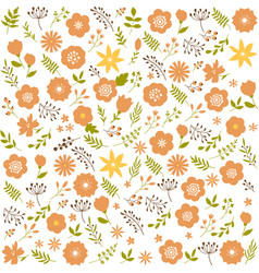 Floral seamless pattern background spring design vector