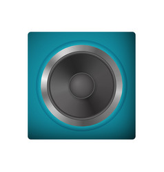 Modern audio speakers vector