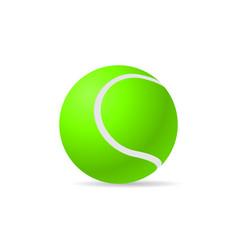 Tennis ball image vector