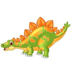 Cartoon big dinosaur vector image vector image