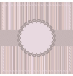 Greeting card template EPS 8 vector image vector image