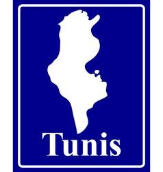 Tunis vector image vector image
