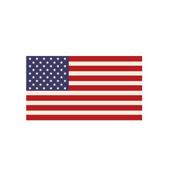 united states of america flag symbol national vector image vector image