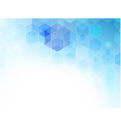 Abstract geometric background blue vector